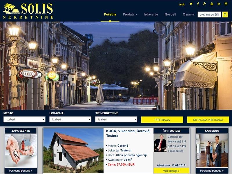 Solis nekretnine Novi Sad