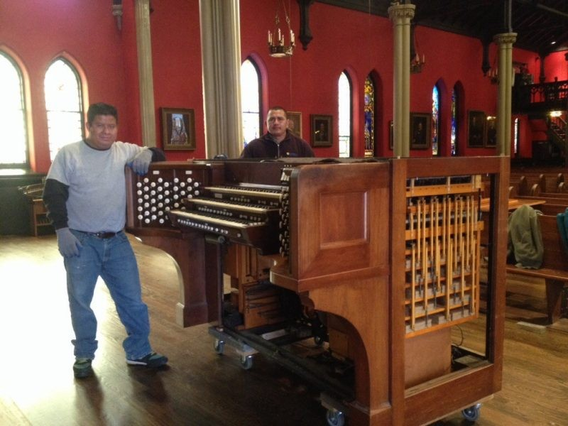 Kako preseliti klavir?