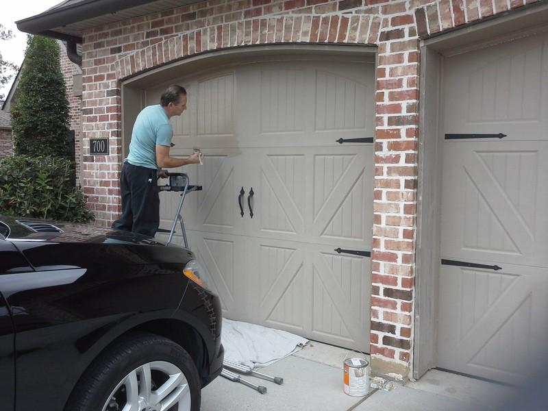 Kako ofarbati vrata?