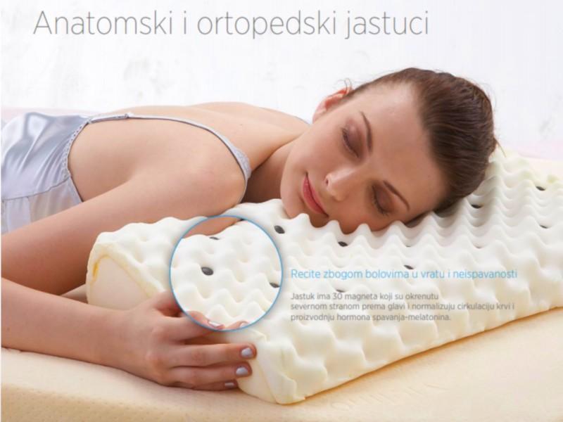 Medicinski jastuk za spavanje - rešenje za stres i nesanicu
