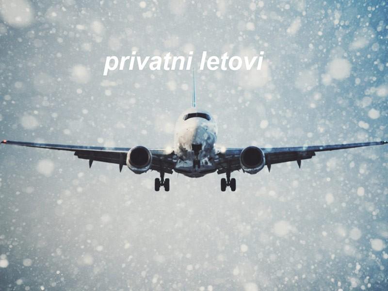 Koliko zimsko vreme utiče na let privatnim avionom?