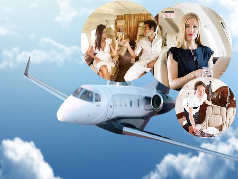 5 stvari koje su karakteristične za privatne letove