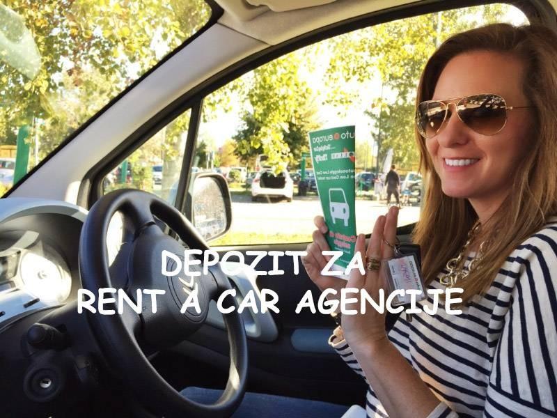 Depozit kod iznajmljivanje vozila u rent a car agencijama