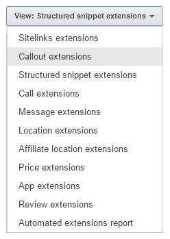 Google ekstenzije