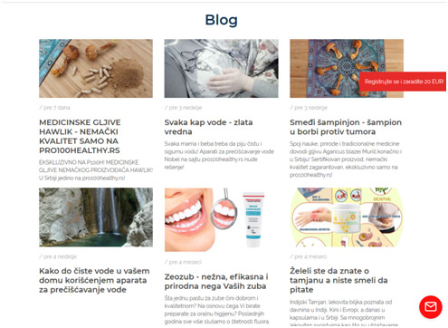 Pro100healthy blog