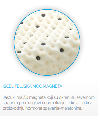 Medicinski jastuk sa magnetima p100h