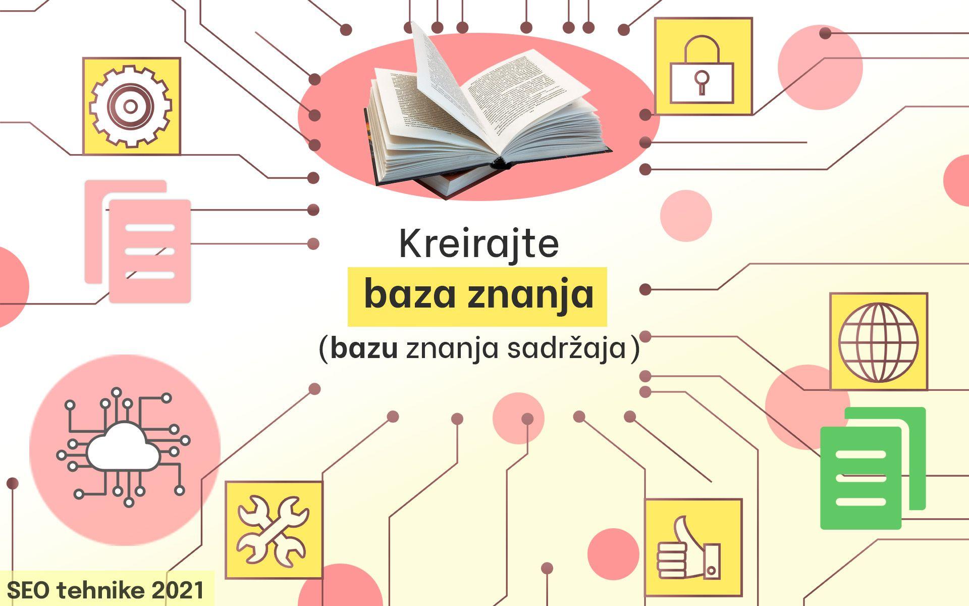 SEO tehnike 2021 kreirajte bazu znanja