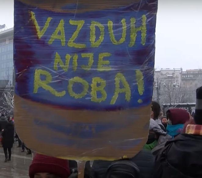 Zagadjen vazduh 2021 srbija