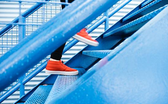 Trcanje uz stepenice