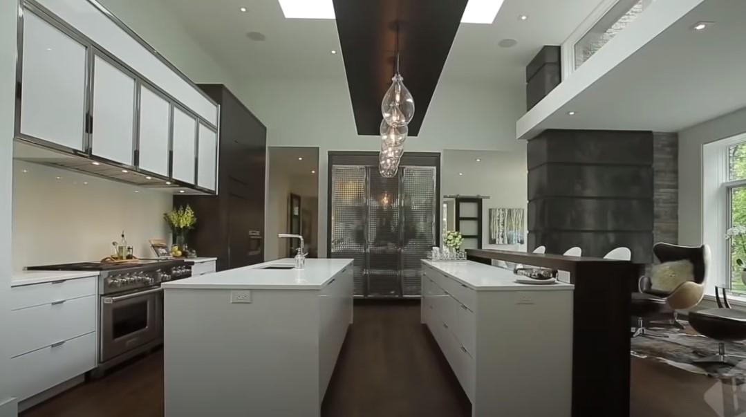Moderna kuća unutrašnjost